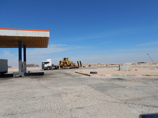 Western Sahara gas station | by Waynuma