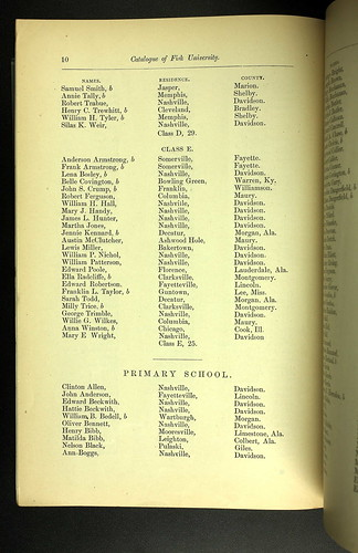 Fisk University 1875 p10 | by CahalanJones