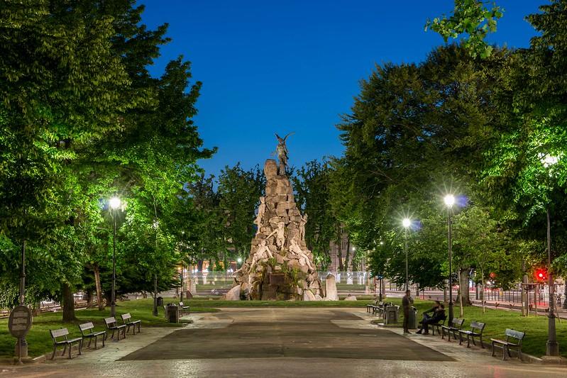 Fontana del Frejus, Torino.