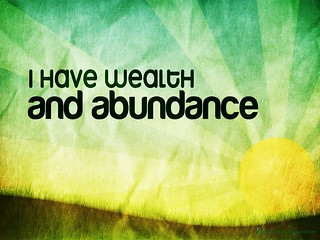 130511 The Positive Daily Affirmation Image About Abundance | by bitesizeinspiration