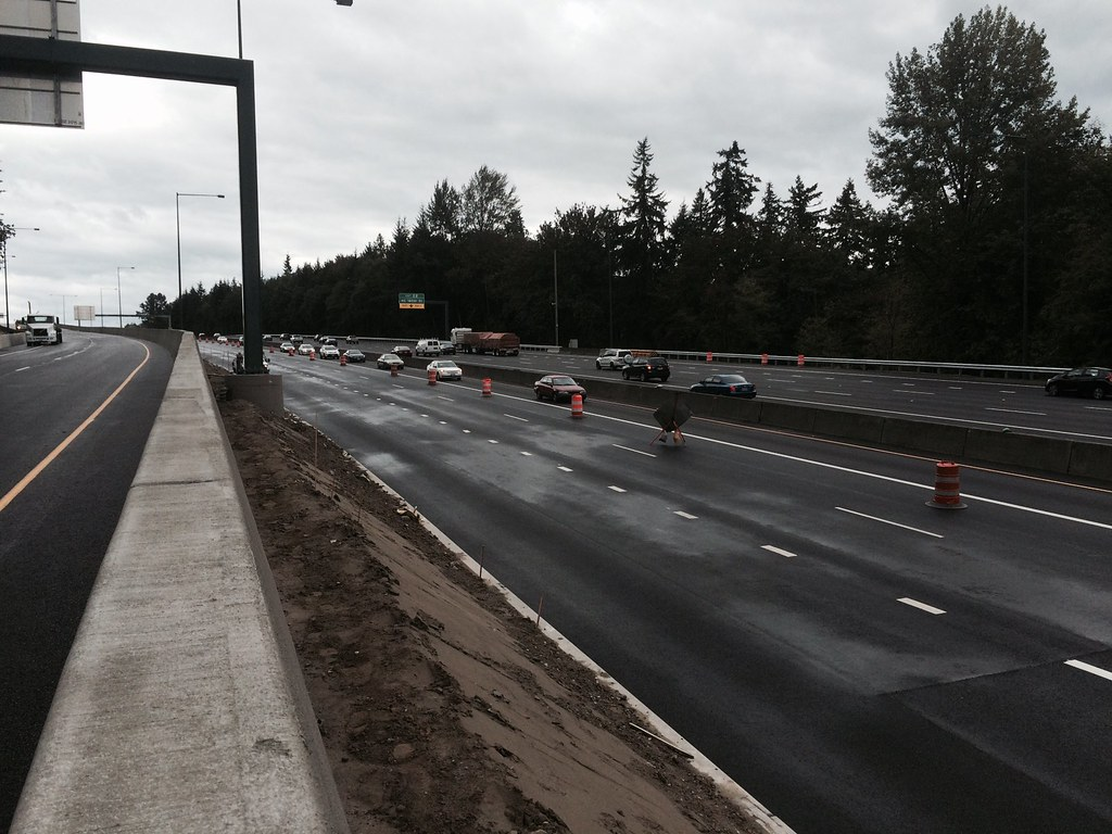 NB I-405 Closure: Traffic conditions | In order to safely an