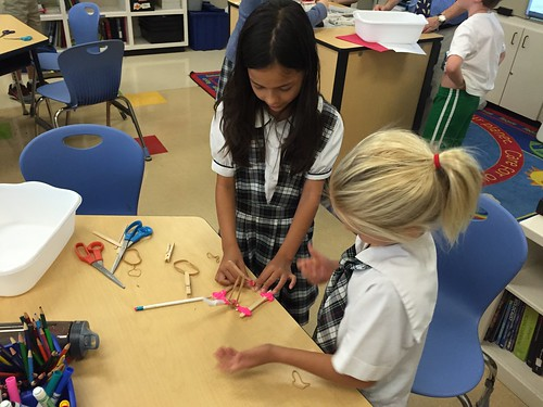 Catapults in STEM Club | by Wesley Fryer