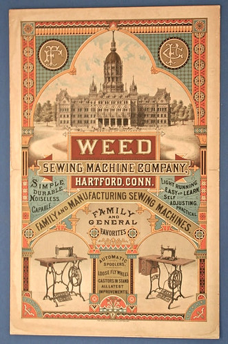 In 1873, the Weed Sewing Machine company bought out the Sharp's Photo