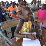Martha, student with Village 2 village school