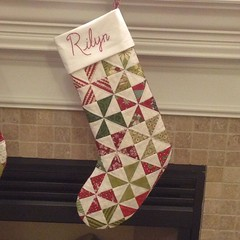 Finished a stocking for my sweet niece. #alyof