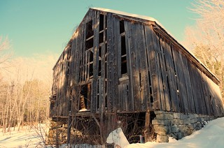 Winter Stripped | by mainebarns