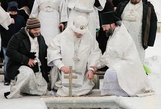 Литургия в Иверском монастыре 680
