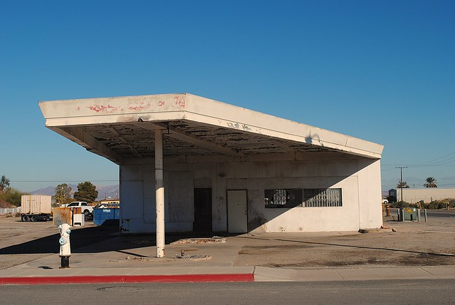 Former Gas Station, Blythe California