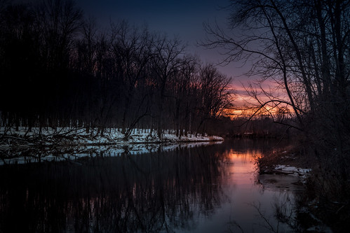 logs banking river rio sunset colorful trees snow winter nieve invierno canoneos5dmarkiv ice cold forest midland michigan reflection