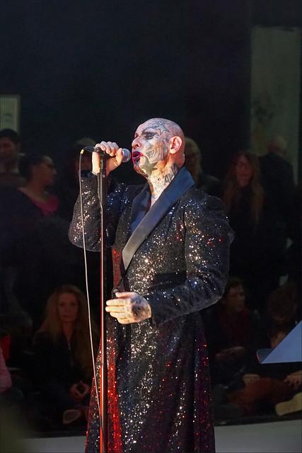 Jean-Luc Verna en concert au Mac/Val (Vitry-sur-Seine)