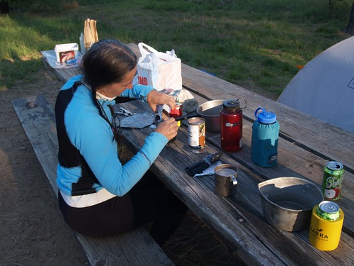 146 Eating dinner while car-camping at Laguna Campground | by _JFR_