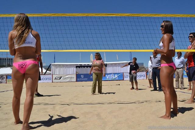 Duplas Argentinas se adjudicaron 2do Circuito Sudamericano Voleibol Playa Viña del Mar 2014