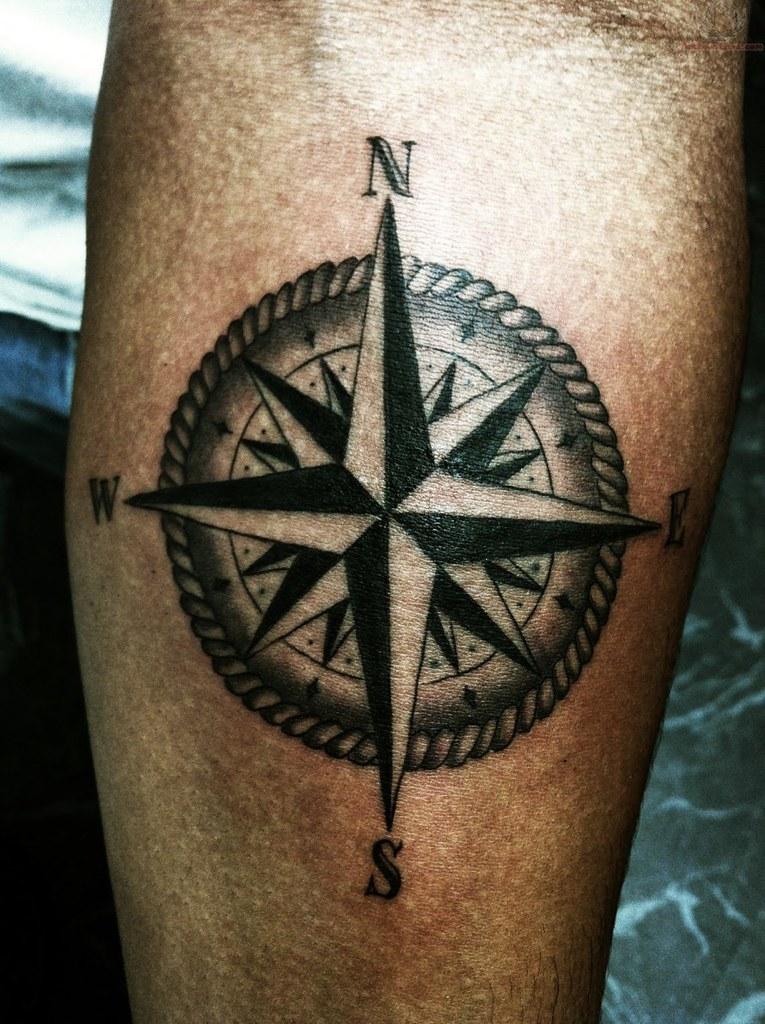 Nautical Compass Tattoos Design Tattoosaddictcomwp Conte