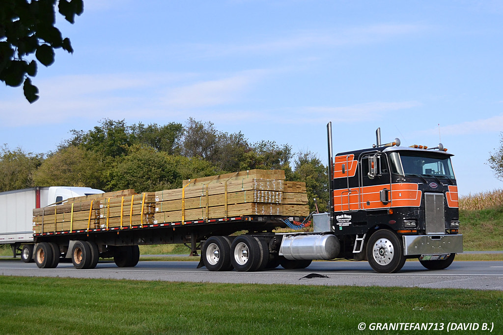 Peterbilt 362 with Flatbed   Trucks, Buses, & Trains by