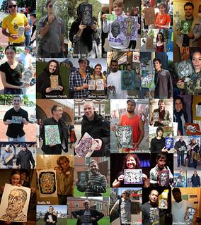 Free Street Art Recipients