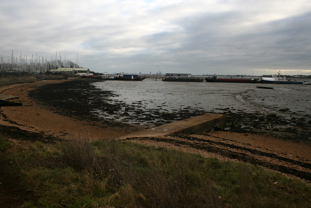 Portsmouth harbour near Portchester