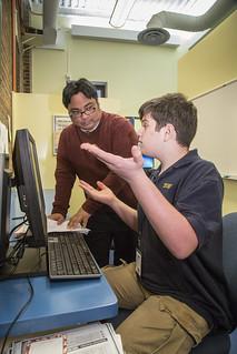 York Prep computer lab | by yorkprep