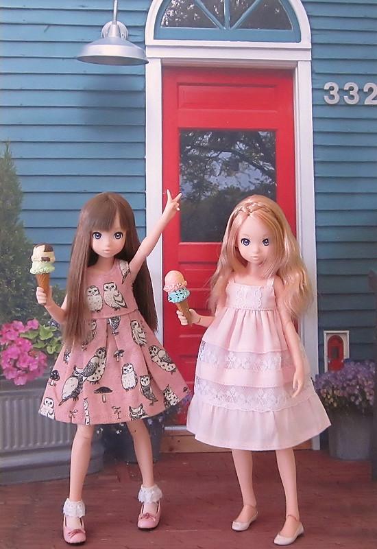 Pink Dresses & Ice Cream