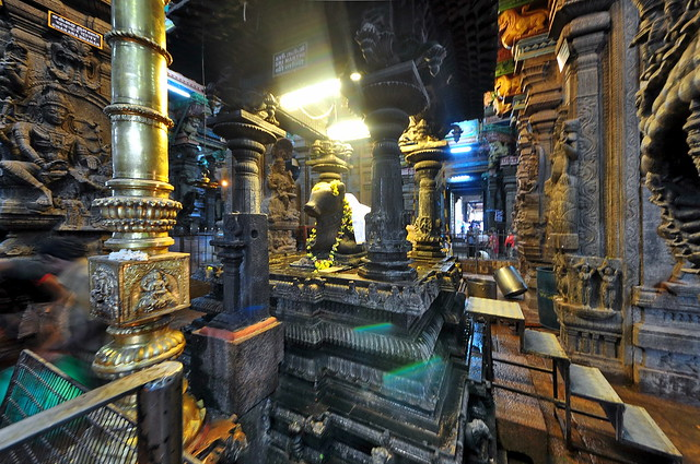 India - Tamil Nadu - Madurai - Meenakshi Amman Temple - 121