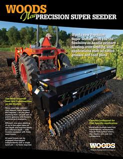 Woods Precision Super Seeder | by WoodsEquipmentCompany