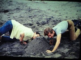 Digging in to China - 1966
