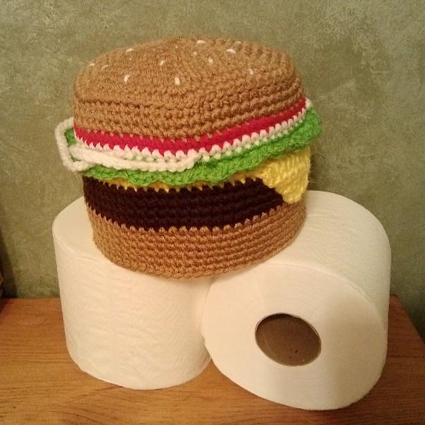 Unicorn Toilet Paper Cover - Free Crochet Pattern • Blackstone Designs | 612x612