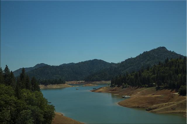Shasta Lake - Drought Year !