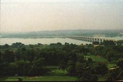 Bamako Mali April 1995 167 River Niger Bridge