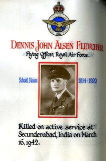 Fletcher, Dennis John Alsen (1901-1942) | by sherborneschoolarchives