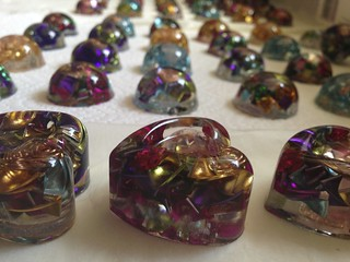 Orgone Hearts and domes