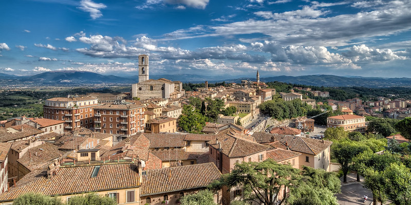 A Postcard From Perugia