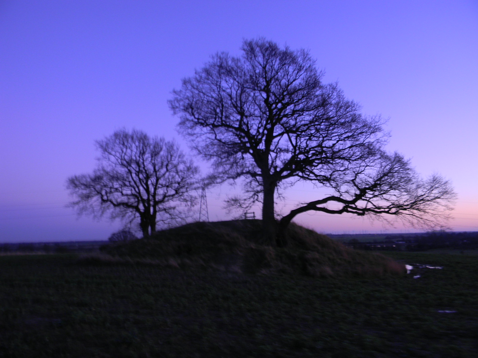 """Take-a-pew Hill 2 The seat on top is inscribed """"take a pew, enjoy the view"""" Appledore Short Circular"""