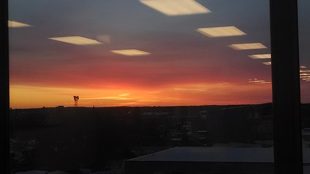 sunset from the sixth floor