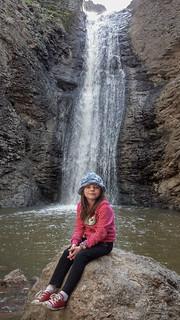 Brenna below Jump Creek Falls*