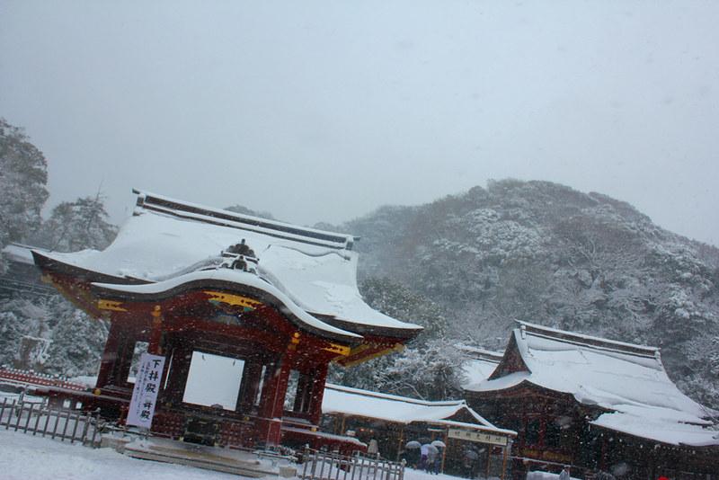 雪の鎌倉_17