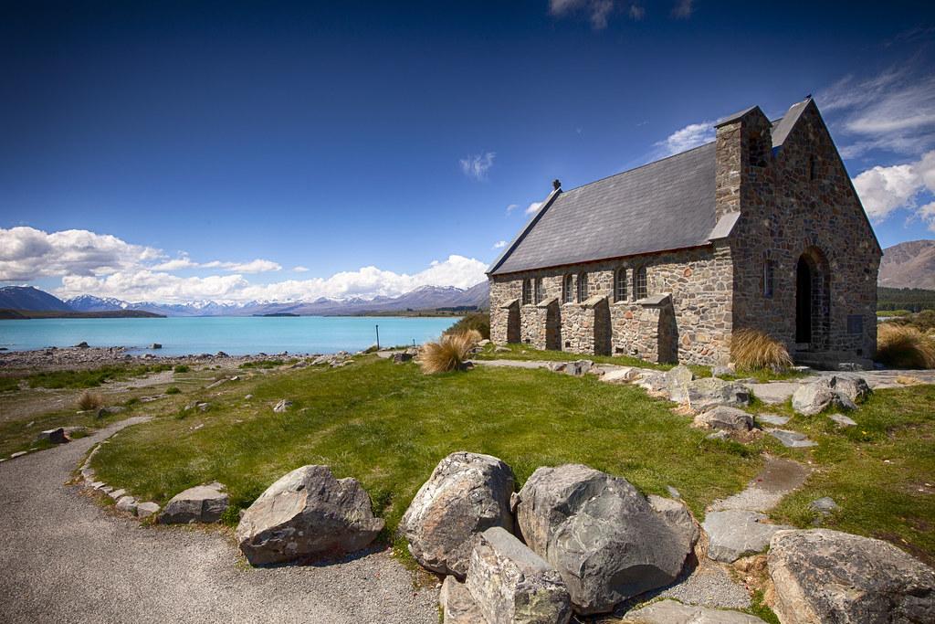 Church of the Good Shepherd - Lake Tekapo - New Zealand   Flickr
