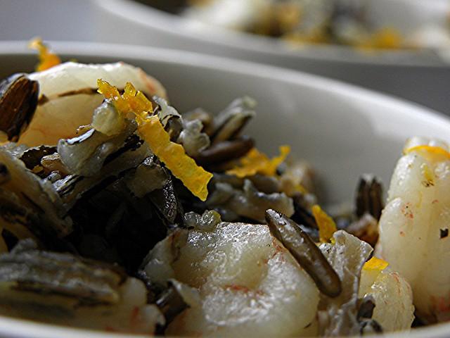 insalata di riso sevaggio canadese con gamberi e arance (3)