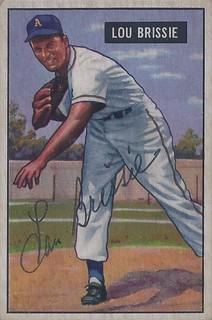 1951 Bowman Lou Brissie 155 Pitcher B 5 Jun 1924