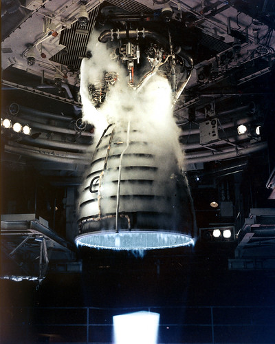 Shuttle Main Engine Test Firing | by NASA on The Commons