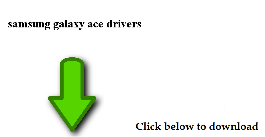 samsung galaxy ace drivers download
