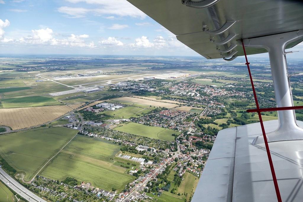 Aerial Picture Lej Leipzig Halle Airport Germany 20160618 Flickr