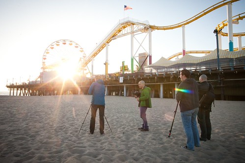 Manfrotto Be Free Tripod ad shoot BTS - Santa Monica | by The Bui Brothers