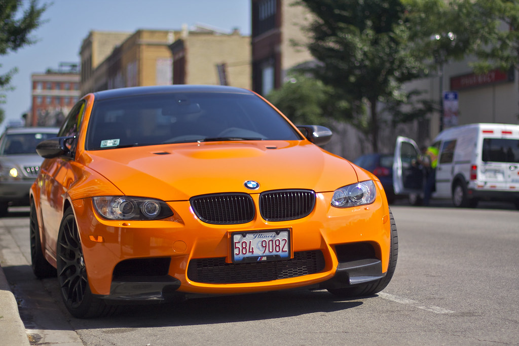 Fire Orange Bmw E92 M3 Thomas Struett Flickr