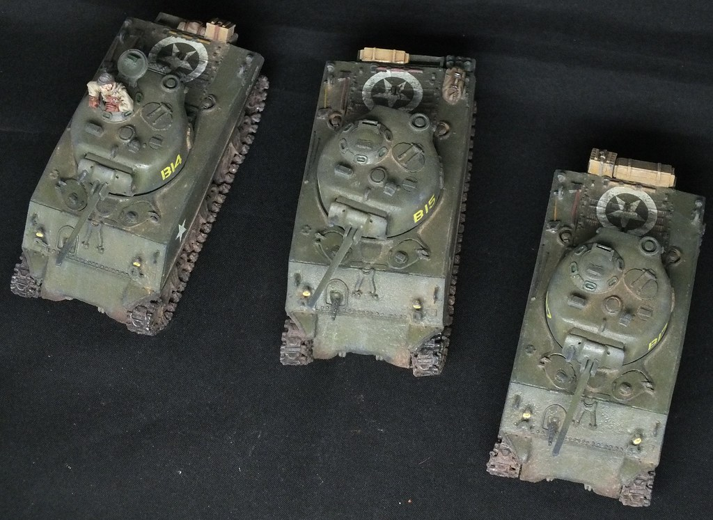 Bolt Action Sherman platoon | Platoon of 3 Shermans | Flickr