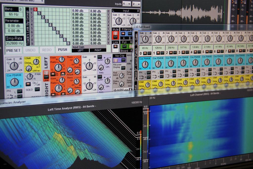 C10-DSD Noise Floor Analysis   VB-Audio C10-DXD for Pyramix