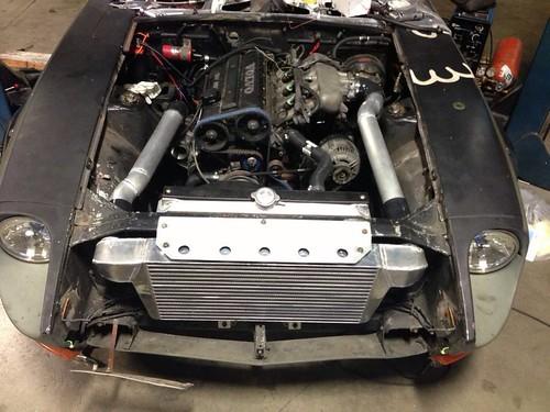Datsun 240z progress   by crazyoctopus