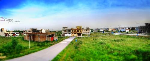 pakistan panorama building green home gardens river garden photo picture housing society islamabad baltistan rivergarden