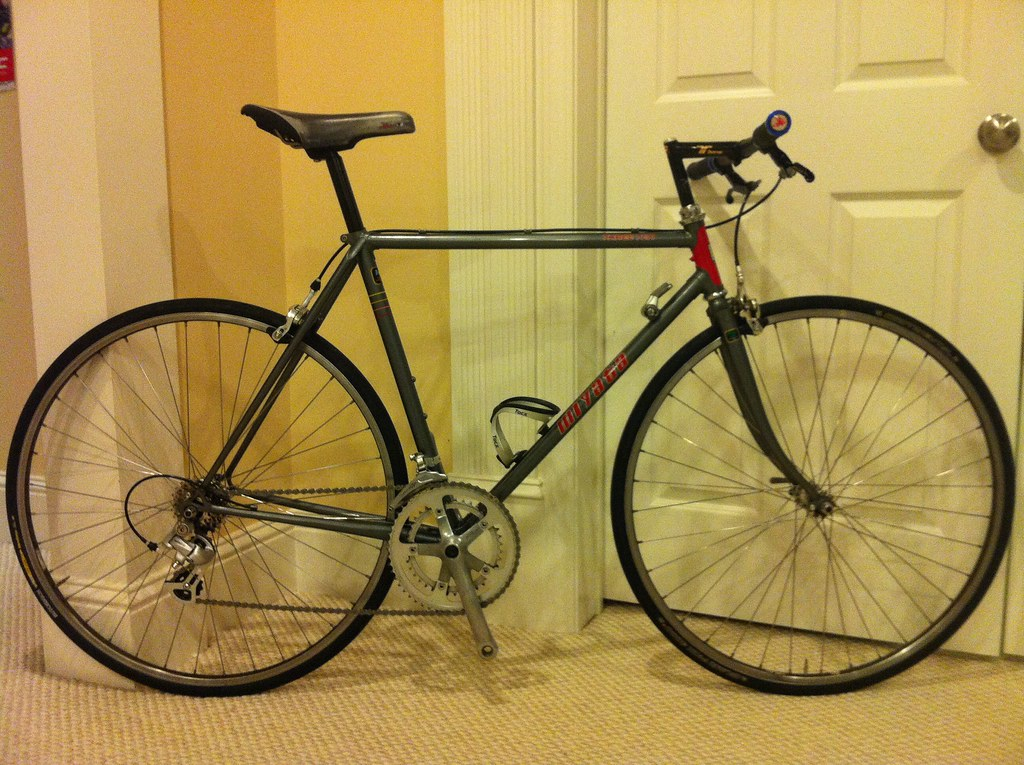 541f7f6d844 1986 Miyata 310 Flat bar road bike | 1986 Miyata 310, size 5… | Flickr