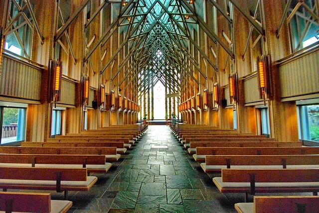SkyRose Chapel,  E. Fay Jones and Maurice Jennings 1997