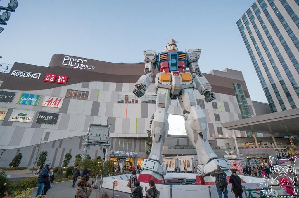 1/1 Gundam!